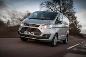 The Ford Transit Custom was the best-selling commercial vehicle in the UK for April