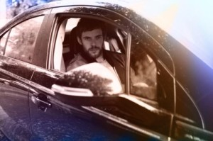 Harry Treadaway and the Vauxhall Ampera (2)