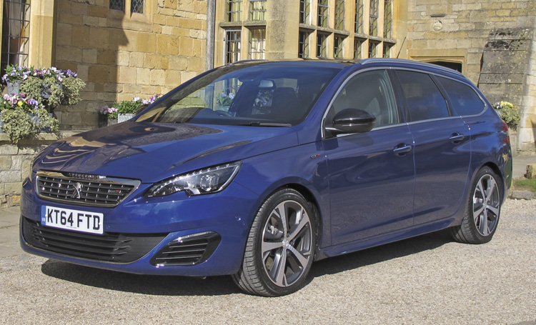 60 Second On Test Report 2015 Peugeot 308 Sw Gt Bluehdi 180